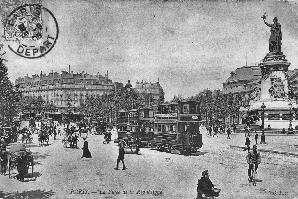Place de la Republique Paris 4